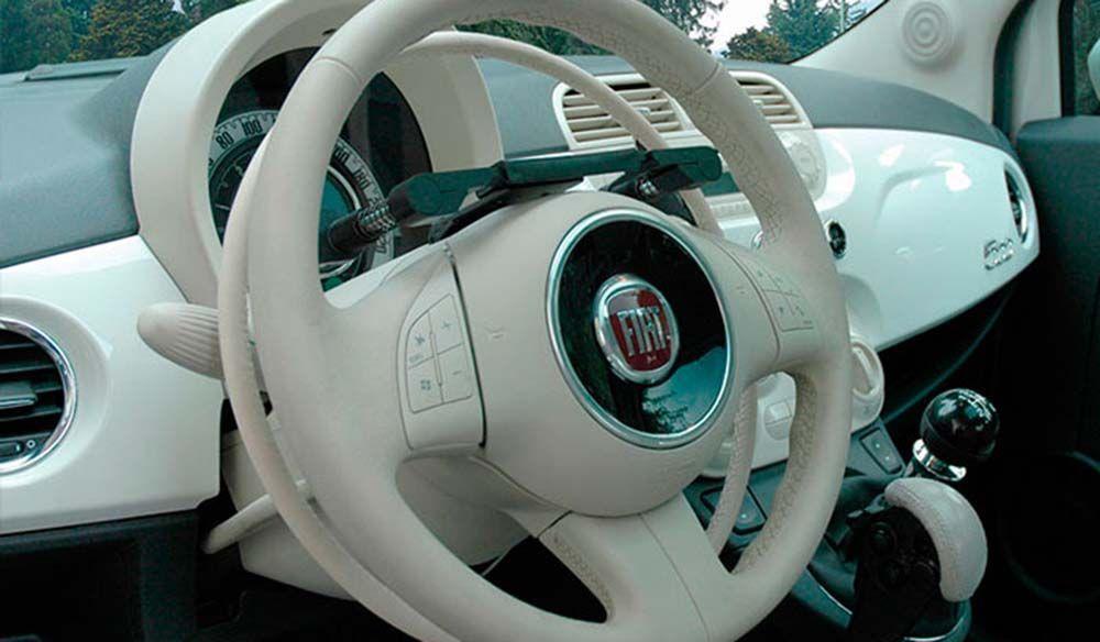 Acelerador electrónico aro puesto debajo del volante original D916GV | Guidosimplex